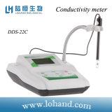 Mètre de conductivité de Digitals pour l'usine d'eau potable et le laboratoire (DDS-22C)