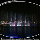 Fontana di acqua di galleggiamento mobile del lago