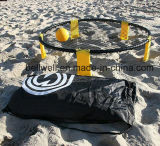 Напольные игры Spikeball лужайки пикника пляжа установили