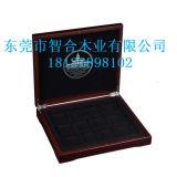 Ouro de Brown e caixa da coleção de moedas de prata