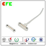 Conector de Pin magnético impermeable modificado para requisitos particulares de 4pin Pogo de China