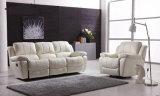 حديثة [ركلينر] أريكة مع [جنوين لثر] أريكة يثبت لأنّ يعيش غرفة أريكة