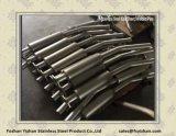 Pipe d'acier inoxydable pour la gorge d'arrière de véhicule