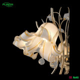 Lustre en cristal à fleurs modernes avec LED en verre (D-9480/5)