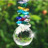 канделябр вспомогательного оборудования шарика 40mm освещая разделяет стеклянные бусины призм шкентелей Suncatcher милого домашнего украшения кристаллический