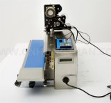 Kontinuierliche Plastiktasche-Dichtungs-Maschine mit Farbband-Streifenschreiber