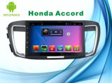 Honda Accordの人間の特徴をもつシステム車のDVDプレイヤーGPSの運行の10.1インチ