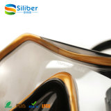 Силикона цвета способа маска подныривания различного профессионального стеклянная с пробкой
