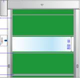 Antiwind Hochgeschwindigkeits-Belüftung-schnelle Walzen-Blendenverschluss-Garage-Tür mit Schleifen-Detektiv