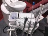 Горячий продавая стул Ce высокого качества Approved реальный кожаный зубоврачебный с светом датчика СИД