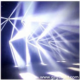 LEIDENE van de Verlichting 8*10W van de disco Witte Spin die het HoofdLicht van de Straal bewegen