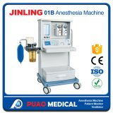 医学の吸入の麻酔機械セリウムISOは示す(JINLING-01B)