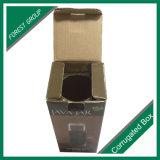 Картонная коробка подарка вина бутылки упаковывая