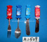 Botermesje met het Handvat van de Hars voor de Decoratie van Kerstmis