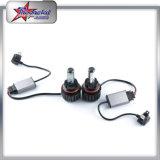 Faro superiore per le automobili dei Nissan, faro luminoso automatico di V16 LED dell'automobile della lampada 40W 5000lm Ful LED del LED con il ventilatore Coolent Headligt