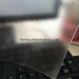 La buccia d'arancia dell'acetato trasparente imprime lo strato rigido del PVC del film di materia plastica del reticolo