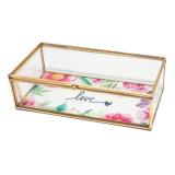 Elegante de la boda hecha a mano personalizada favorece a caja de regalos de joyería Proveedores