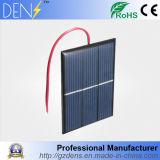 kit solari solari policristallini di formazione del cavo del caricatore +15cm del comitato DIY della pila solare di 0.65W 1.5V