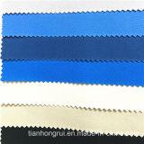 Bon tissu ignifuge bleu de franc de coton de la sûreté 100 de fonction pour des vêtements de travail