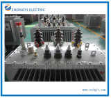 Tipo dell'olio della strumentazione di distribuzione di energia della fabbrica un trasformatore di piccola dimensione di 3 fasi