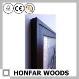 Подгонянная черная рамка фотоего изображения твердой древесины