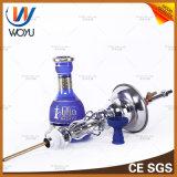 Caratteristiche di fumo dell'unità di stile di acqua dei tubi del narghilé iracheno del silicone in acqua blu del tabacco del Medio Oriente