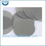 Filtro aglomerado do metal para o giro e a fibra do filamento