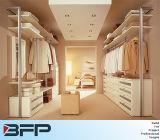 Houten pvc Gebouwd die in Garderobes in China worden gemaakt