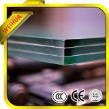 vidro laminado desobstruído de 12mm para construir com Ce/ISO9001/CCC
