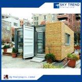 Casa portable prefabricada viva económica del envase de la cabina