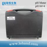 Medidor de pH portátil de alta qualidade com certificado Ce (pH-8414)