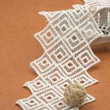 Merletto di nylon dello Spandex di alta qualità di 100% che assetta la guarnizione di vendita calda del merletto