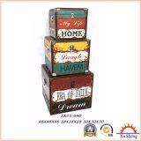 Contenitore di regalo multicolore del contenitore di monili della valigia per memoria e la decorazione