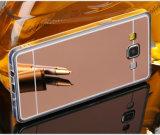Samsung J5를 위한 TPU 이동 전화 상자가 미러에 의하여 전기도금을 한다