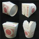 Automático de papel caja de fideos que forma la máquina