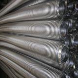 Manguito acanalado anular del metal flexible que hace el fabricante de la máquina