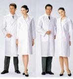 Пальто лаборатории для Анти--Alkali&Acid с логосом подгоняет