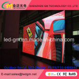 Vidro LED Display LED GWS Mostrar / 3D Video Wall Preço ao ar livre Full Color / GM LED Aluguel Telas P5