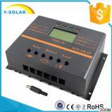 regulador de la carga del panel solar de 60A 12V/24V para el regulador del cargador de batería con LCD S60
