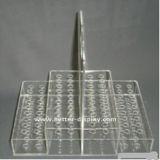 Clip de acrílico transparente titular de la pluma (btr-h1015)