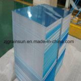 Feuille en aluminium avec le film de PE bilatéral