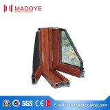 カスクリーンが付いている低いEのガラスアルミ合金の開き窓のWindows
