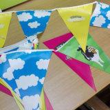 Venta al por mayor Varios diseño personalizado logotipo de la exhibición Banderas Bunting Flags