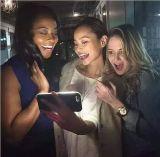 A compra maioria de China 2016 produtos quentes iluminou a caixa do telefone de pilha do diodo emissor de luz de Selfie para o caso 6/7 do iPhone
