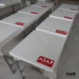Таблица изготовленный на заказ квадрата логоса искусственная мраморный обедая с верхним качеством (T170822)