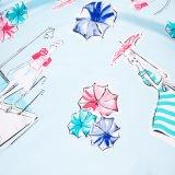 Nuova sciarpa di seta stampata Digitahi all'ingrosso di disegni per le signore