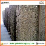 Natürlicher Brasilien-Basisrecheneinheits-Gelb-Granit für Gastfreundschaft-Gegenoberseiten