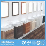 Europäische Art MDF-populärer moderner Badezimmer-Schrank (B129N)