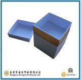 Het blauwe Verpakkende Vakje van de Gift van het Document (gJ-Box517)