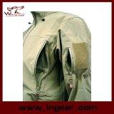 Rivestimento impermeabile delle coperture molli del parka dello zigrino di Hoodie di azione furtiva V4